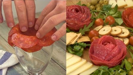 Rose di salame: l'idea geniale per dare ai tuoi aperitivi una marcia in più!