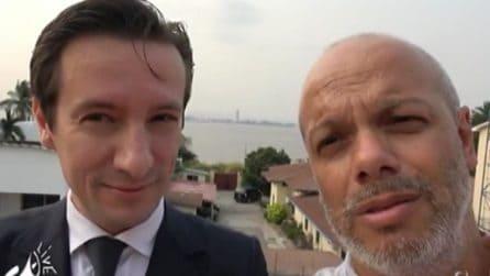 Luca Attanasio intervistato a Propaganda Live