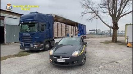 Sequestrato tir con 4,5 tonnellate di sigarette di contrabbando dalla Grecia
