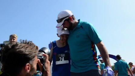 Special Olympics, Simone Perona alla mezza maratona di Los Angeles