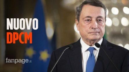 Nuovo dpcm, verso stop a riaperture: Draghi mantiene la linea del rigore, preoccupano varianti