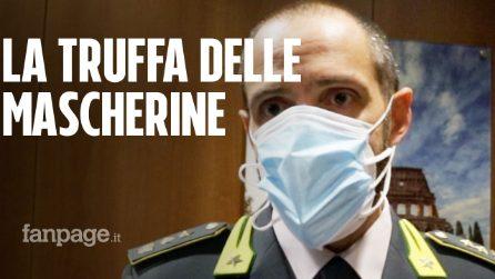 """Covid, la Gdf: """"Alla Protezione civile del Lazio 5 milioni di mascherine non certificate"""""""
