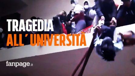 Tragedia all'Università, crolla la ringhiera e gli studenti cadono nel vuoto: 7 morti in Bolivia
