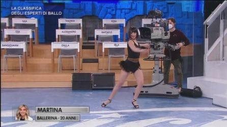 Amici - Martina - La classifica degli esperti di ballo - 24 febbraio