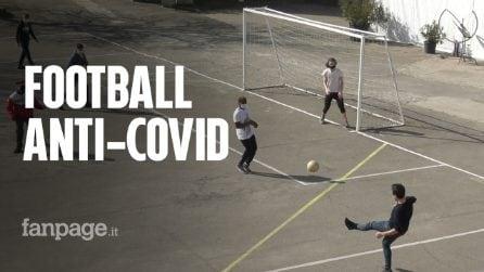 """Bologna, un centro salesiano inventa il """"calcio anti-Covid"""": """"Si gioca in sette, senza contatto"""""""