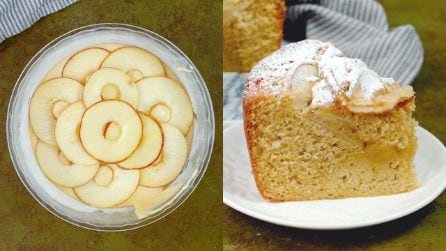 Apple chiffon cake: the american way to surpise your guests!