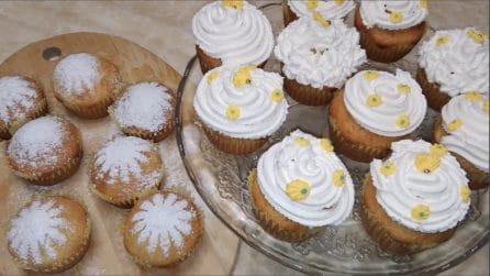 Cupcakes mimosa: la ricetta bella e golosa per la festa della donna