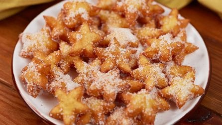 Fried stars: you won't be able to stop eating them!