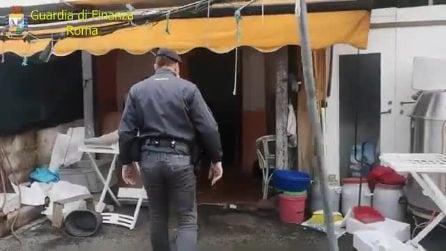 Cibi avariati e distilleria clandestina in un ristorante cinese di Roma