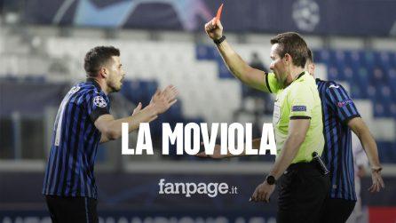 """Atalanta-Real Madrid, la moviola: perché il cartellino rosso a Freuler è ritenuto """"eccessivo"""""""