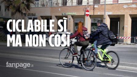 """Ostia, la ciclabile provvisoria divide il Municipio: """"Sì ma non così"""""""