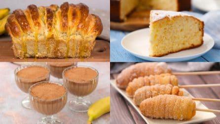 6 ricette facili e golose da preparare con delle semplici banane!