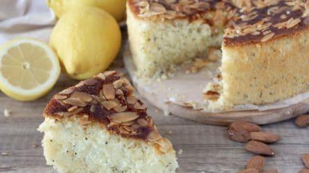 Torta al limone con semi di papavero: la ricetta del dessert profumato e soffice