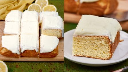 Lemon cake: fresh and scented, the perfect dessert for all the family!