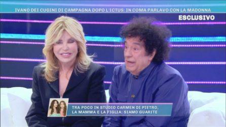"""Domenica Live, Ivano Michetti dopo l'ictus: """"Sono stato dimesso dopo 5 mesi in ospedale"""""""