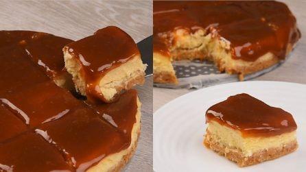 Cheesecake al caramello: il dolce cremoso che conquisterà tutti!