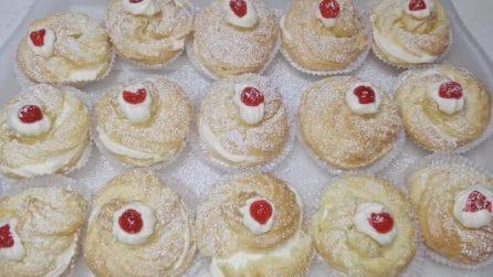 Zeppole di San Giuseppe: la ricetta golosa al forno