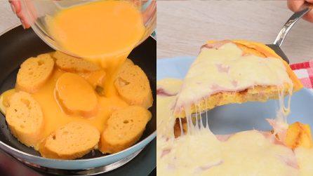 Bread omelette: a unique and very easy recipe to prepare!