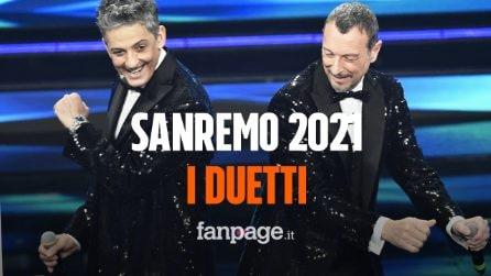 Sanremo 2021, i duetti: ecco tutte le cover della terza serata del Festival