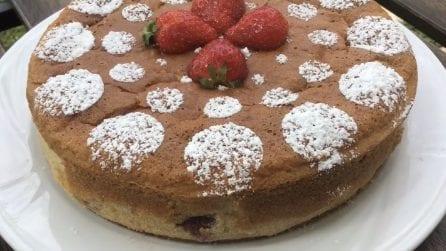 Torta soffice alle fragole: la ricetta del dessert delizioso