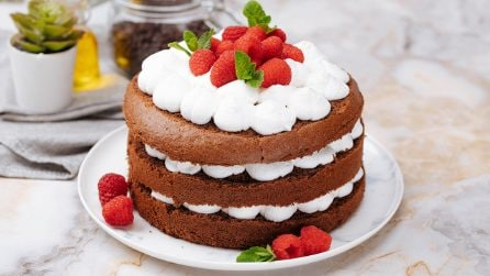Naked cake: beautiful and full of flavour!