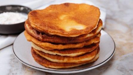 Palloncini di pane: la variante al solito pane preparato in padella!