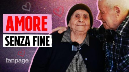 """Amore senza fine: Guerino e Sofia sposi da 75 anni. """"Nessun segreto, tanti sacrifici e vita dura"""""""