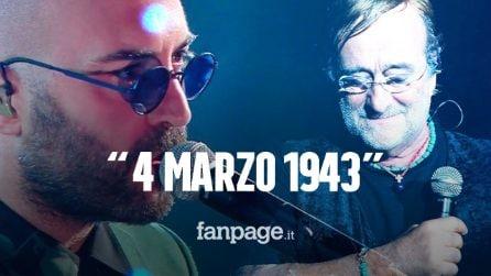 Sanremo 2021, Giuliano Sangiorgi omaggia Lucio Dalla e poi il monologo sulla canzone d'autore