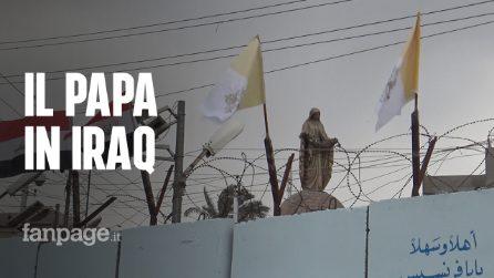 Il Papa in Iraq, prima tappa nella chiesa dove furono uccisi i cristiani