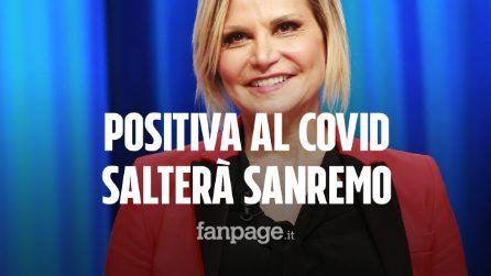 Sanremo 2021, Simona Ventura positiva al covid: costretta a saltare la finale del Festival