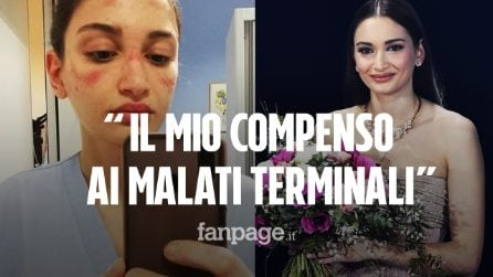 """Sanremo 2021, l'infermiera Alessia Bonari: """"Il mio compenso andrà alle cure per i malati terminali"""""""