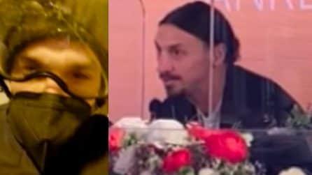 """Ibra racconta l'esilarante viaggio: """"In moto a Sanremo, senza di me Ama non ce la fa"""""""