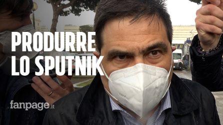 """Roma, l'assessore D'Amato: """"Vaccino Sputnik? Serve una produzione nazionale"""""""