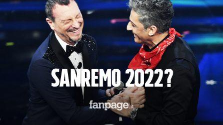 """Amadeus sull'ipotesi di Sanremo 2022: """"Se il pubblico lo desidera, vedremo"""""""