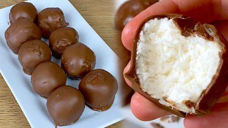 Tartufi light con yogurt greco e cocco: il dolcetto veloce da provare subito!
