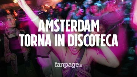 Ad Amsterdam si torna a ballare in discoteca, anche senza mascherina, ma è un esperimento Covid