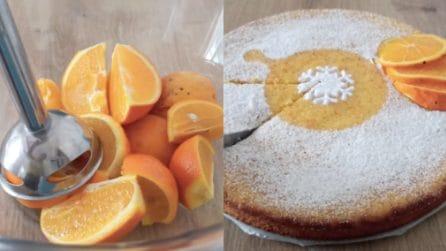 Torta di arance frullate: il metodo semplice per avere un dessert goloso