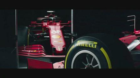 Formula 1: Ferrari, svelata la nuova SF21 di Leclerc e Sainz