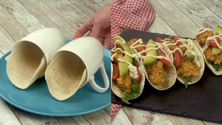 Tacos cotti in tazza: il modo originale per preparare una cena alternativa!