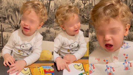 Il piccolo Leone canta il brano di Fedez a Sanremo: confonde la Michielin con la madre