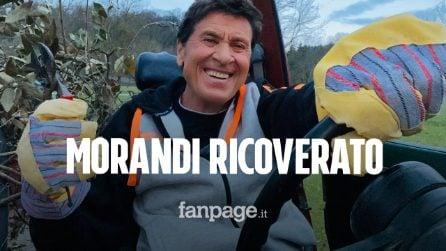 Gianni Morandi ricoverato d'urgenza: come sta il cantante dopo le ustioni alle mani e alle gambe