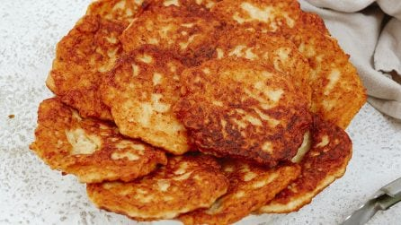 Chicken fritters: crunchy and ready without yeast!