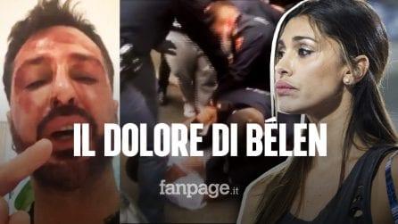 """Arresto Fabrizio Corona, il dolore di Belén: """"Ho pianto tanto, non è lucido e va aiutato"""""""
