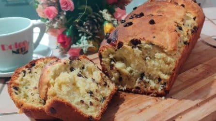Pan brioche con gocce di cioccolato: la ricetta del soffice dessert