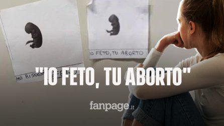 """""""Io feto, tu aborto"""" la studentessa 18enne di Piacenza: """"Quell'odio non lo capisco"""""""