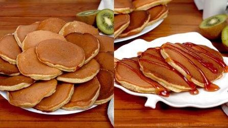 Kiwi pancakes: the original idea all to taste!