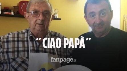 """Morto Roberto Bicocchi, il figlio Vito: """"Virus maledetto. Lo voglio ricordare così. Ciao Papà"""""""