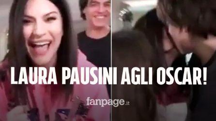 """Laura Pausini, candidato agli Oscar il brano """"Io sì"""": """"Thank you Academy! Grazie mille!"""""""