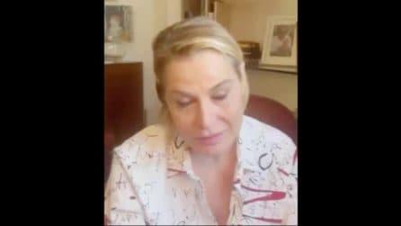"""Simona Ventura positiva al Covid: """"Mi sento un leone, in questi giorni farò un altro tampone"""""""