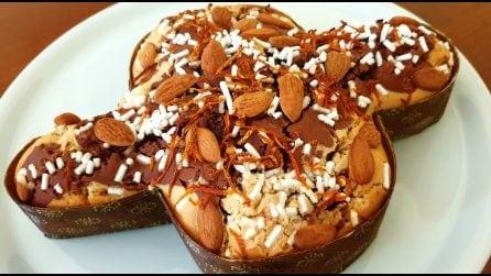 Colomba veloce variegata al cioccolato: la ricetta per averla soffice e golosa